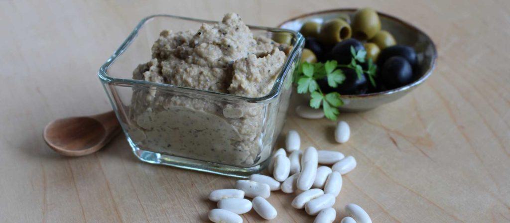 Paté di olive e tahin